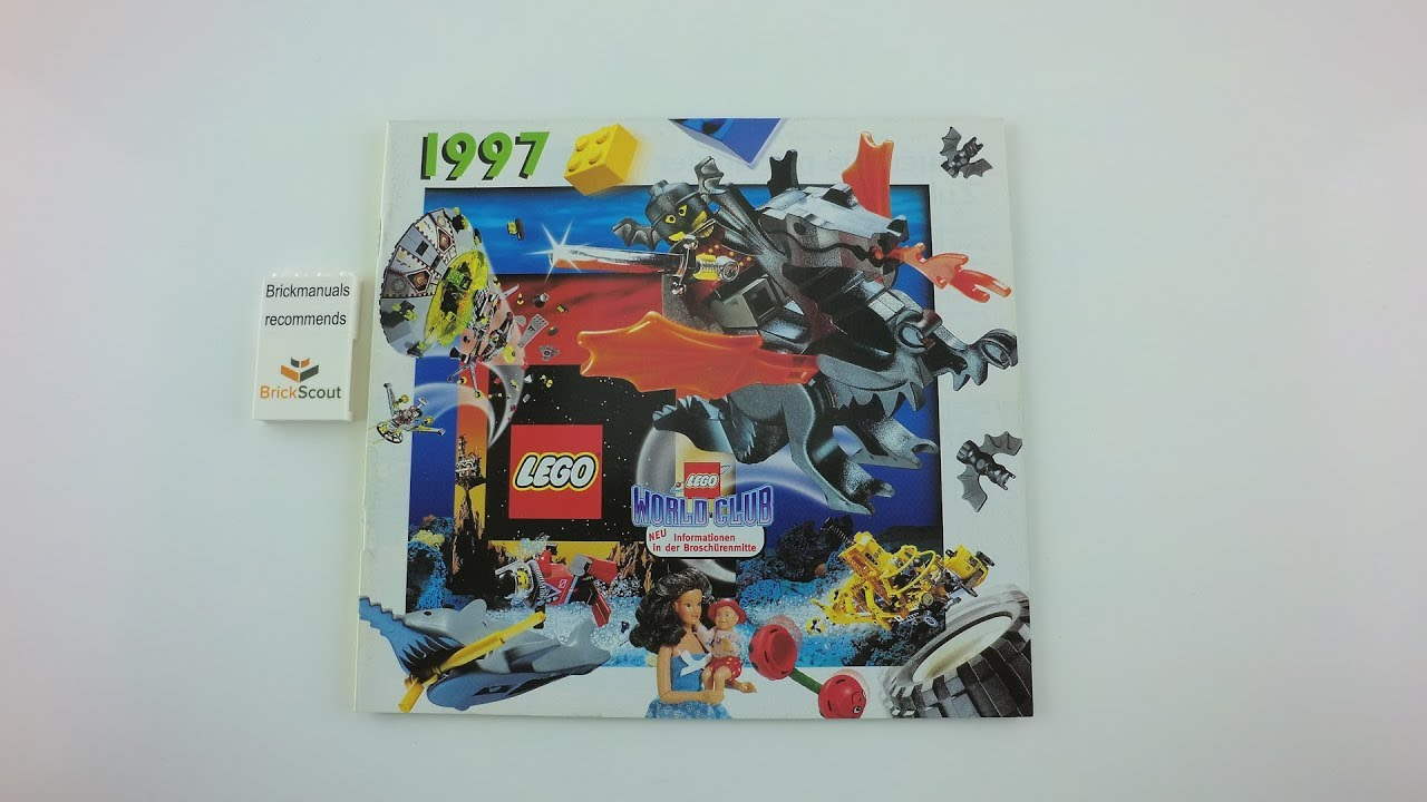 1997 Large Lego Catalogue Review Discover Toy History In 4k Youtube