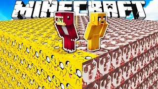 LUCKY BLOCKS MIKECRACK VS LUCKY BLOCKS RAPTOR ❓😨 MINECRAFT DESAFIO