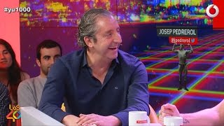 Josep Pedrerol casi nos calza un guantazo #yu1000