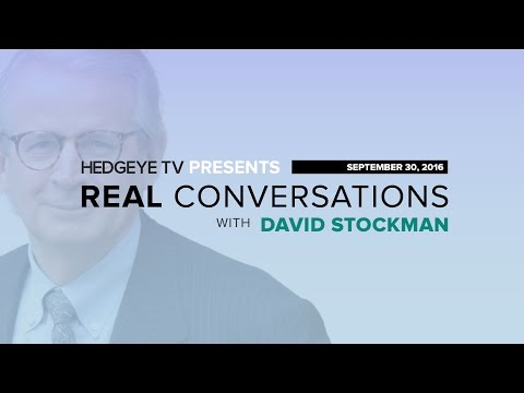 David Stockman Unplugged: 'Casino Capitalism Fueling Mutant Markets'