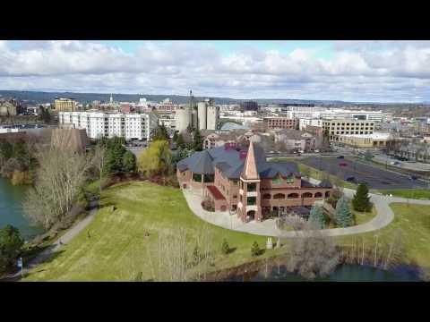 University of Washington and Gonzaga University Drone Shots