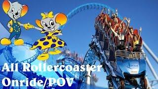All Rollercoasters POV / Onride Europa Park