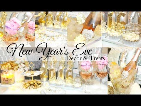 New Year's Eve Decors & Treats | DIY | Amberallure
