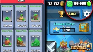 HOW TO GET FREE GEMS IN CLASH ROYALE! NO HACKS!