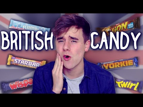 American Tries British Candy