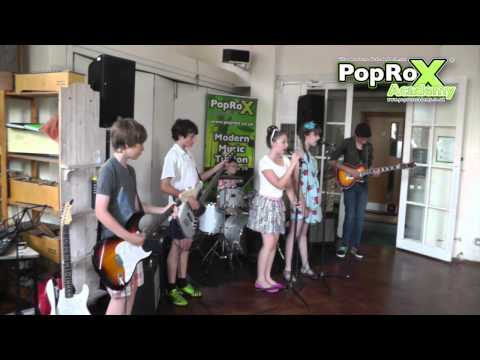 PopRoX Students Play Horsell Village School Yr 2 Leavers Ball