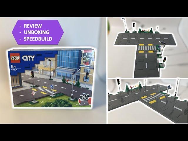 Meine Meinung zur LEGO 60304 Straßenkreuzung - REVIEW + UNBOXING + SPEEDBUILD