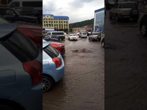 Горно-Алтайск утонул