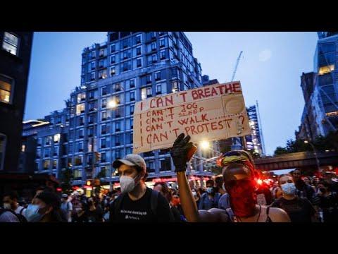 США: протесты и аресты