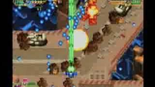 Classic Game Room - MARS MATRIX review for Sega Dreamcast Pt1