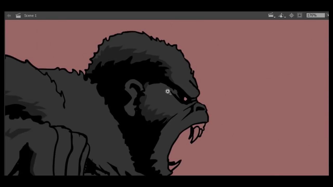 Drawing Godzilla Vs. King Kong Thumbnail - YouTube