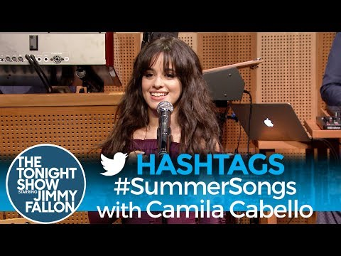 Thumbnail: Hashtags: #SummerSongs with Camila Cabello