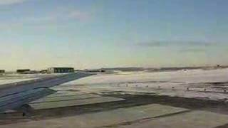 Plane Taking Off from Barrow Alaska