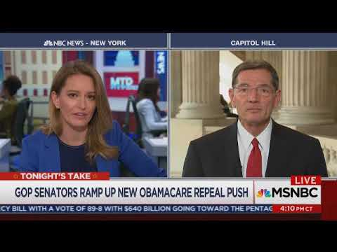Barrasso on Meet the Press Daily with Katy Tur