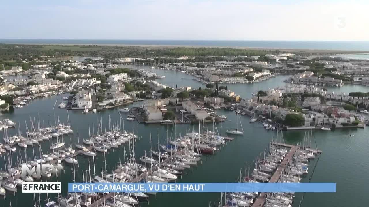Vue d 39 en haut port camargue vu d 39 en haut youtube for Porte vue 300 vues
