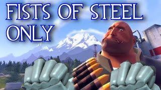 TF2: Fists Of Steel Only - Gameplay