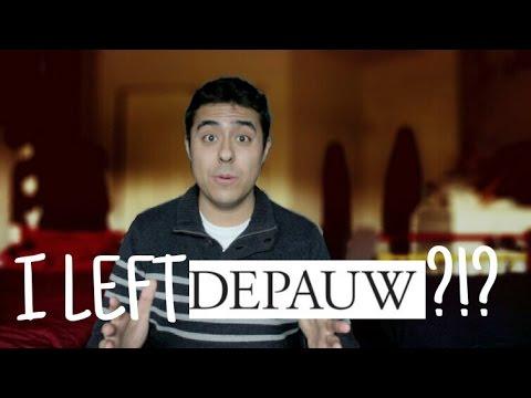 I LEFT DEPAUW?!?