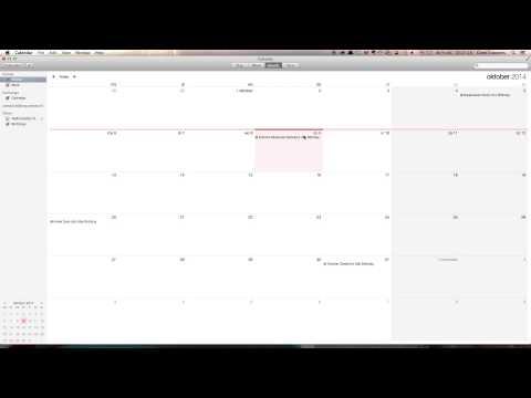 Voeg CALDAV account toe aan Calendar voor OSX
