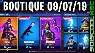 BOUTIQUE FORTNITE JULY 9, 2019, NEW SKINS, ITEM SHOP JULY 9, 2019