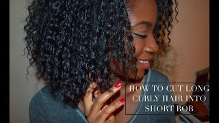 MILAN WIG | EASY WAY TO CUT AND TRIM CURLY WIG