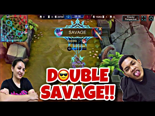 DOUBLE SAVAGE!!! (WITH MY BEST SUPPORT)
