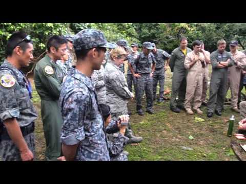 Cope North 2017 SERE Jungle Survival Training
