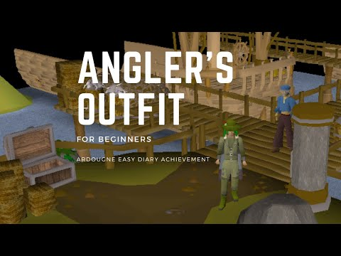 OSRS: How To Get The Angler's Outfit Set [Fishing Trawler Guide] + Ardougne Easy Diary Task