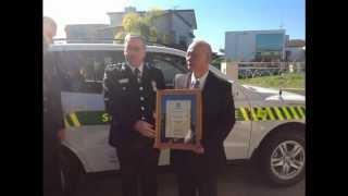 台灣僑民邱垂義先生 捐贈紐西蘭st john救護車