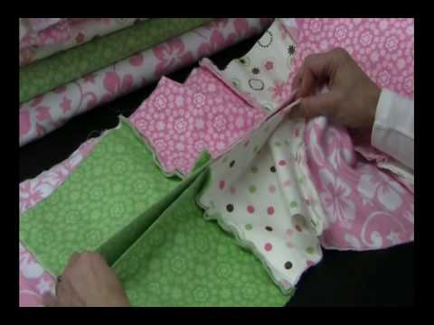 Rag Quilt Project Beverly S How To Youtube