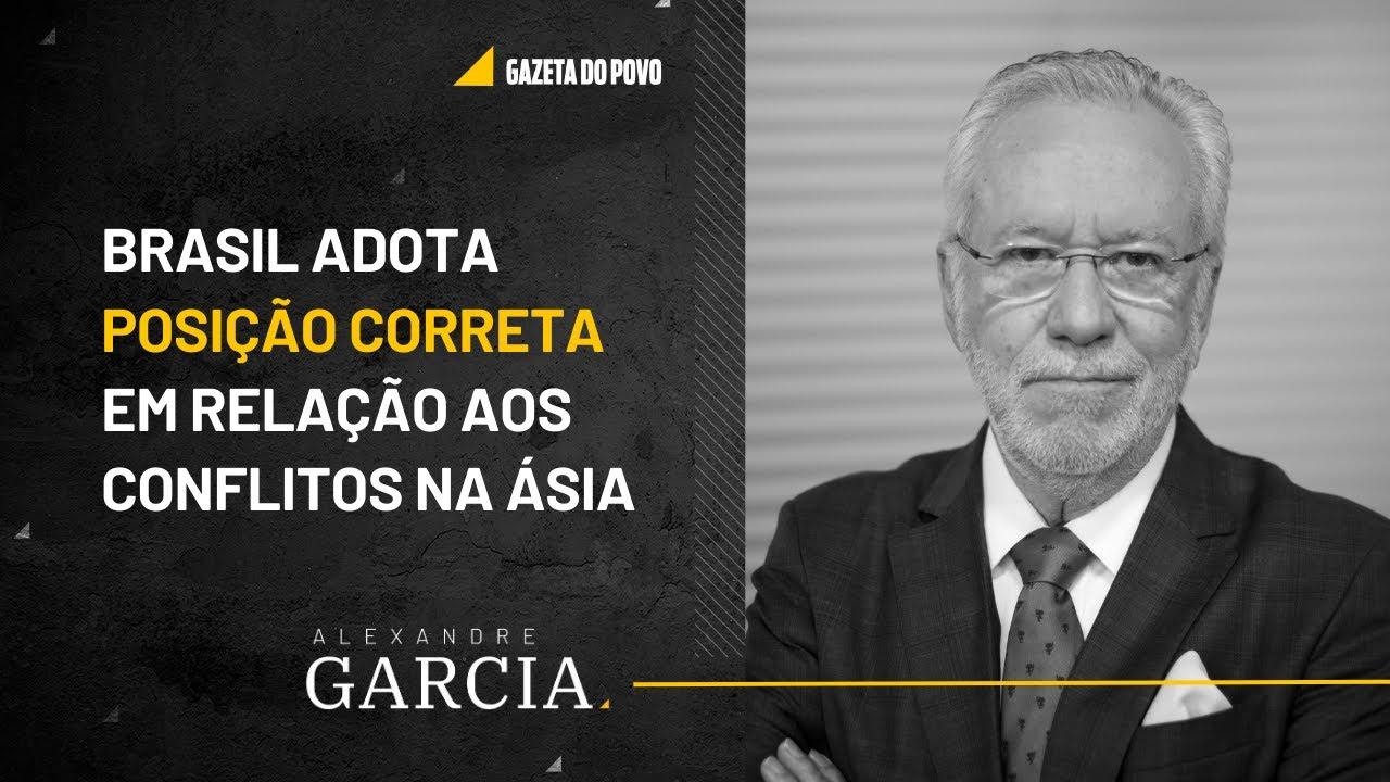 Brasil adota posição correta em relação ao conflito entre EUA e Irã   #AlexandreGarcia