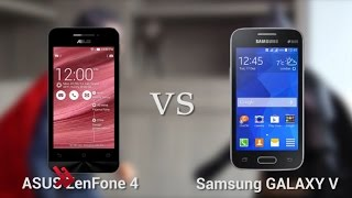 ASUS ZenFone 4 vs Samsung Galaxy V - Video Review HD (Indonesia)