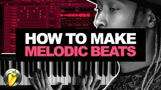 MAKE CRAZY MELODIES USING ONLY 4 NOTES! How To Make Melodic Beats #2 (FL Studio)