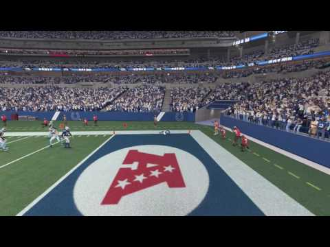 Madden 17: Colts vs Panthers - Cam Newton Pick-6 (clip)