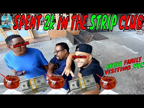 I SPENT $2000 IN A LAS VEGAS STRIP CLUB | UBER STORIES | BROKE FAMILY VISITS NYC | SUPER NUTCRACKER