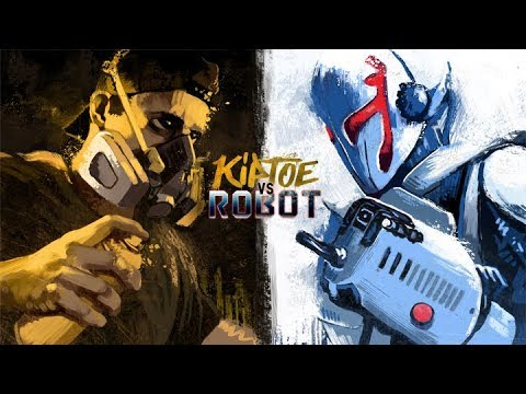 Kiptoe vs Robot - (A Street Art Action Film)