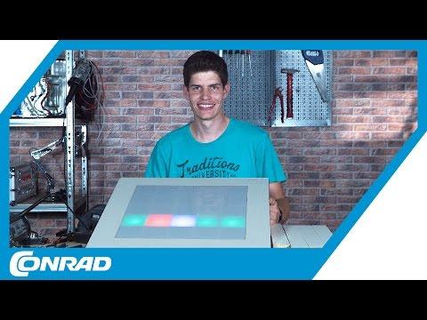 DIY LED-Tisch bauen - Tekkie Hacks | Conrad - YouTube