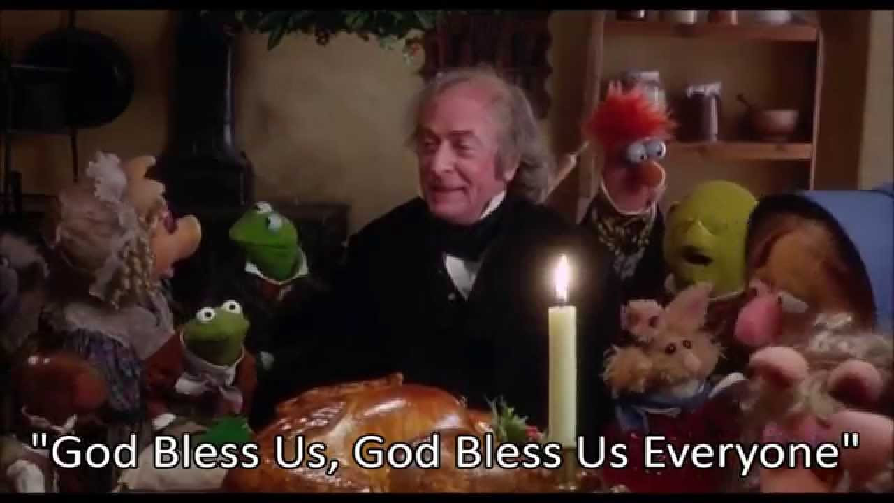 Muppet Christmas God Bless Us Everyone Youtube