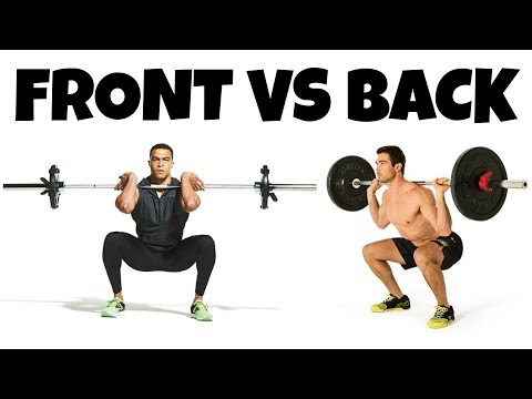 The Science Comparing Front Squat VS. Back Squat (Which Is Best)