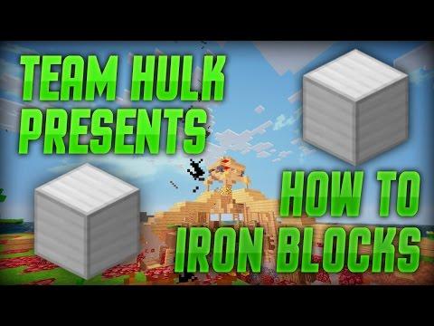 Annihilation: How to Iron Blocks