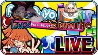Puyo Puyo Tetris Live with ToonRusty Part 3 w/ Slamitie & Lux