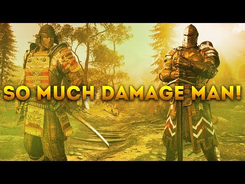 For Honor WITH...WARDEN & OROCHI - SO MUCH DAMAGE MAN!