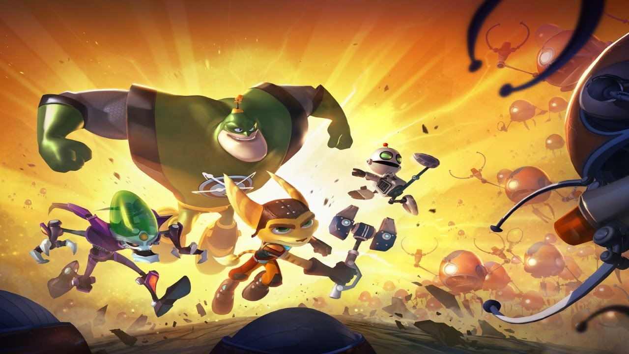 Ratchet and Clank All 4 One - The Movie (German)