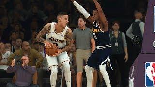 Nba Today 12/22 Los Angeles Lakers Vs Denver Nuggets Full Game Highlights   Nba 2k