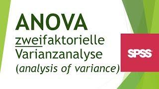 ANOVA (zweifaktorielle Varianzanalyse) in SPSS durchführen - Daten analyisieren in SPS (11)