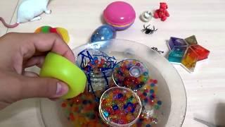 ЧТО ВНУТРИ игрушки АНТИСТРЕСС животные СЛАЙМ лизун для детей ANTISTRESS COLORS slime for kids