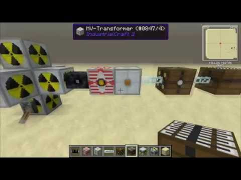 Como montar um reator nuclear do industrial craft 2 - tutorial