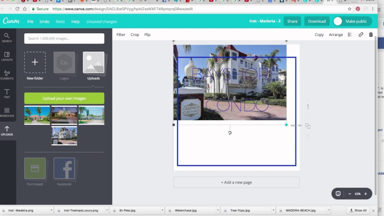 Canva How To Edit A Template Youtube