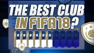 THE BEST CLUB IN FIFA?! - £0 RTG CLUB TOUR - FIFA 18 Ultimate Team