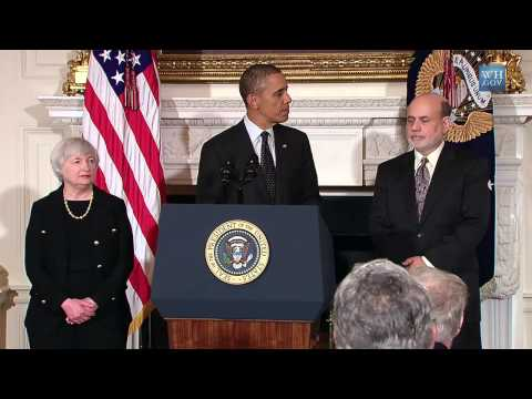 President Obama Nominates Dr. Janet Yellen as Federal Reserve Chairman