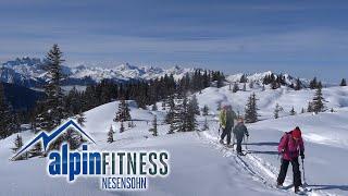 Schneeschuhtour Muttjöchle 2074m / Snowshoe tour / Kristberg / Silbertal / Montafon / Vorarlberg